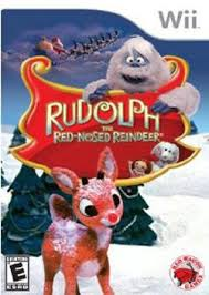 file rudolph red nosed reindeer video game cover jpg