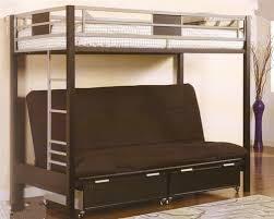 bedroom extraordinary clifton black silver twin metal futon bunk