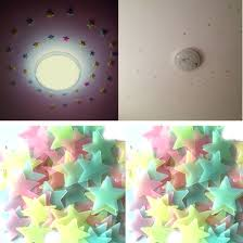 online buy wholesale glowing wall stickers from china glowing wall 100pcs pack luminous stars wall stickers home glow in the dark stars for kids fluorescent