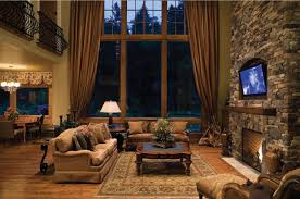 rustic livingroom living room end modern ideas rustic with budget paint schemes
