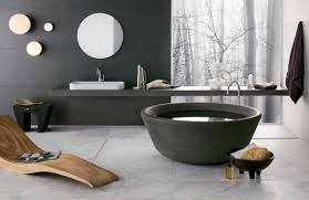 outstanding cubicle bathtub designs with black marble flooring and