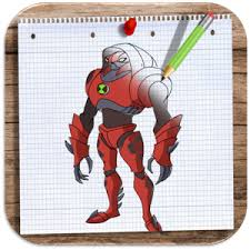 draw colour ben 10 android apps google play