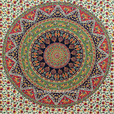 Bedroom Tapestry Wall Hangings Size Multicolor Bohemian Mandala Cloth Fabric Throw Tapestry Wall