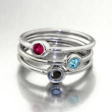 mothers rings stackable contemporary mothers rings items similar to delights gold stacking