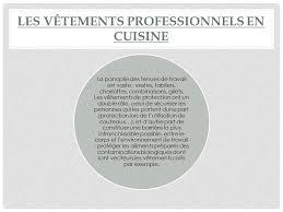 tenu professionnelle cuisine cuisine la tenue professionnelle ipsseoaipsseoa la tenue du