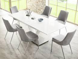 stuhl esszimmer esszimmerstuhl stuhl alia stoff grau gestell chrom