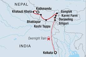 Banning State Park Map by Nepal Tours Treks U0026 Travel Intrepid Travel Us