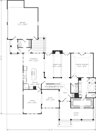 cape house floor plans cape may spitzmiller and norris inc southern living house plans