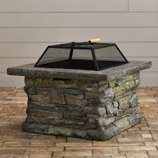 Firepit Screen Pit Screen Square Pit Design Ideas