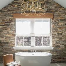 Bathroom Accent Wall Ideas Colors Stacked Stone Accent Wall Design Ideas