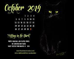 Small Desktop Calendar Free October Featured Artwork And Desktop Calendar