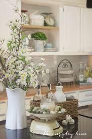 kitchen counter decor ideas farmhouse kitchen farmhouse kitchens white coffee cups and