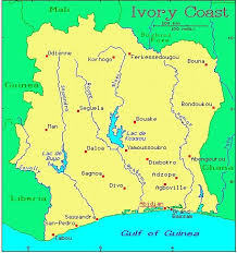 africa map ivory coast ivory coast countries gateway africa safaris