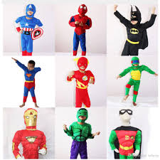 Halloween Costumes Hulk Halloween Costume Kids Captain American Spiderman Superman