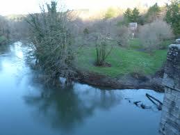 gunnislake river tamar in flood 25th november 2012 johnie u0027s