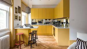 kitchen cupboard colour ideas uk 30 beautiful yellow kitchen ideas