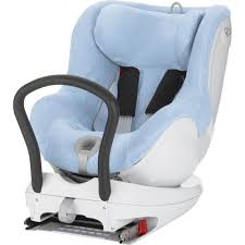 housse eponge siege auto bebe confort housse été éponge dualfix bleu ciel de britax sur allobébé