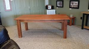 Cherry Wood Dining Room Tables by Reclaimed Rough Cut Cherry Dining Room Table