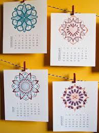Desk Calendar Design Ideas 20 Beautiful Letterpress Calendar Designs Web U0026 Graphic Design