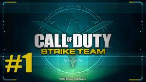 apk call of duty strike team call of duty strike team gameplay walkthrough ep1