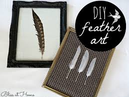 diy feather art bliss at home