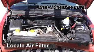 2002 dodge ram 4 7 engine 2002 2005 dodge ram 1500 engine air filter check 2005 dodge ram