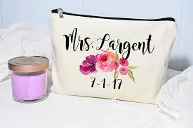 bridal makeup bag makeup bag bridal gift personalized wedding gift