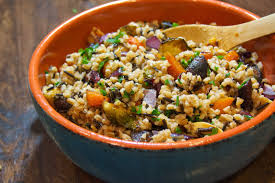 vegetable dishes for thanksgiving planning for thanksgiving farro and wild rice with roasted autumn