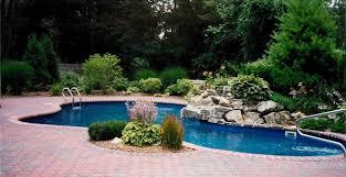 backyard pool landscaping 15 pool landscape design ideas home design lover