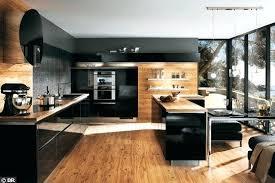 cuisine noir et deco cuisine noir et blanc idee deco pour cuisine blanche 2 cuisine