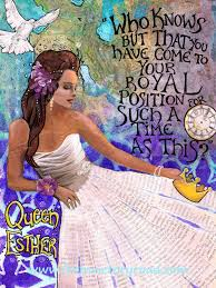 queen esther bible story ezra to job spring tea ideas