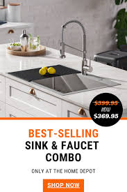 metal kitchen sink and cabinet combo kraus loften all in one dual mount drop in stainless steel