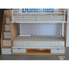 Beech Bunk Beds Beech Bunk Bed With Storage Built Into Staircase