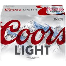 coors light 36 pack price coors light beer 36 12 fl oz cans walmart com