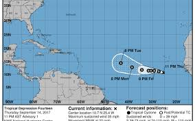 after irma new tropical depression forms in the atlantic miami