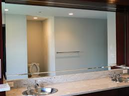 Installing New Bathroom Vanity Mirror Installation U0026 Design New Jersey Allied Glass And Mirror