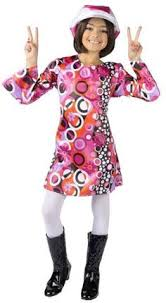 Cowgirl Halloween Costume Child Toddler Feelin Groovy Dress Disco Costume Costumes