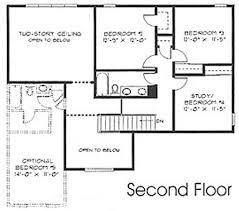 second story floor plans 1 1 2 story floorplans