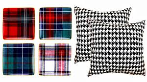 sterling engagementsinspired by plaid and houndstooth our
