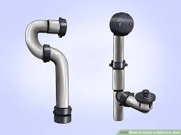 How To Open Bathroom Sink Drain How To Install A Bathroom Sink 13 Steps With Pictures Wikihow
