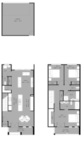 Narrow Lot House Plans With Rear Garage What Is Small Lot Housing