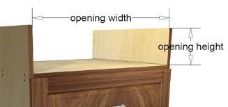 2 drawer rangetop base cabinet