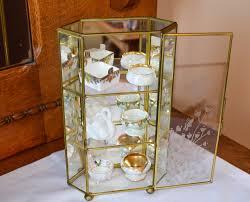 Antique Brass Display Cabinet Curio Cabinet 1l Dreaded Miniature Curio Cabinet Photos