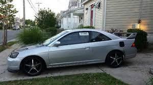 purchase used 2003 honda civic ex coupe 2 door 1 7l custom k20
