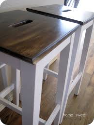 customised ikea bosse bar stools dream home pinterest bar
