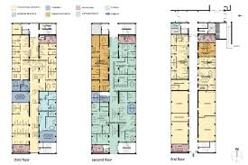 classroom floor plan examples berkeley unified district u201cwest campus u201d administration and