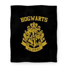 hogwarts alumni decal hogwarts alumni crest hufflepuff blanket blanket lookhuman