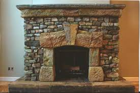 dry stack stone fireplace electric stand designs rustic outdoor