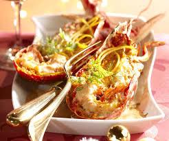homard cuisine recette de fête homard à l orange