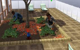 Sims 3 Garden Ideas Summer S Sims 3 Garden How To Build A Rooftop Or Balcony